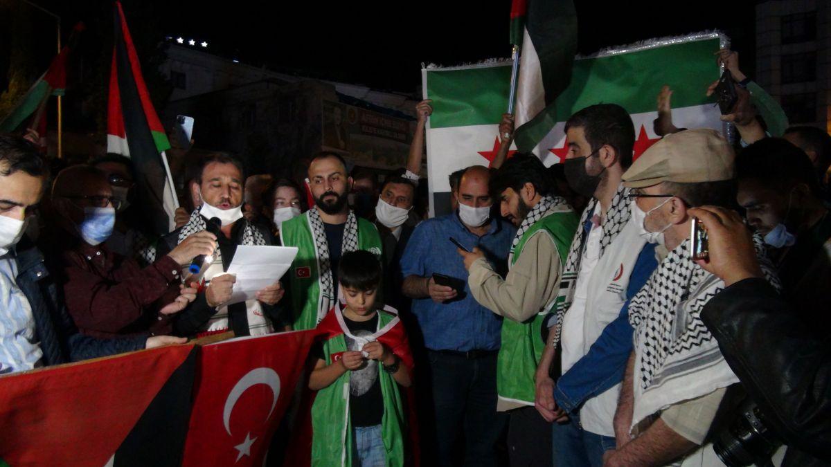 Türkiye nin dört bir yanında Kudüs ve Filistin için destek gösterileri #21