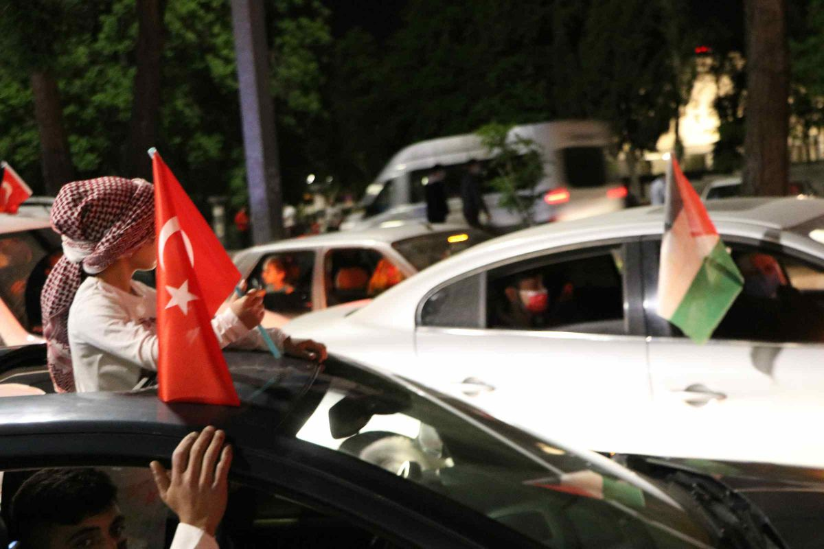 Türkiye nin dört bir yanında Kudüs ve Filistin için destek gösterileri #11