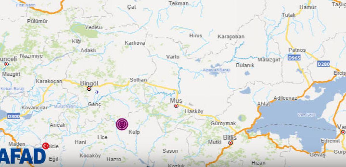 Diyarbakır da deprem #1