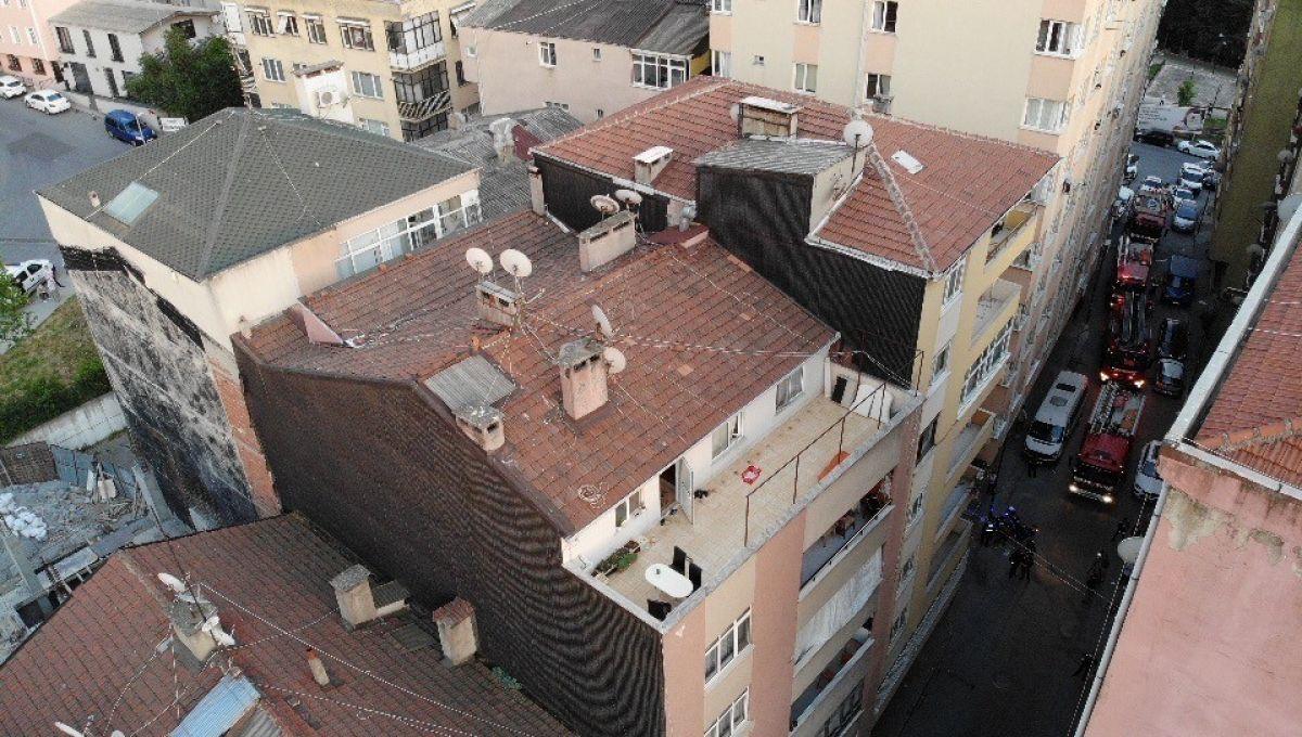 Şişli'de 6 katlı bina, çökme riski nedeniyle tahliye edildi #5