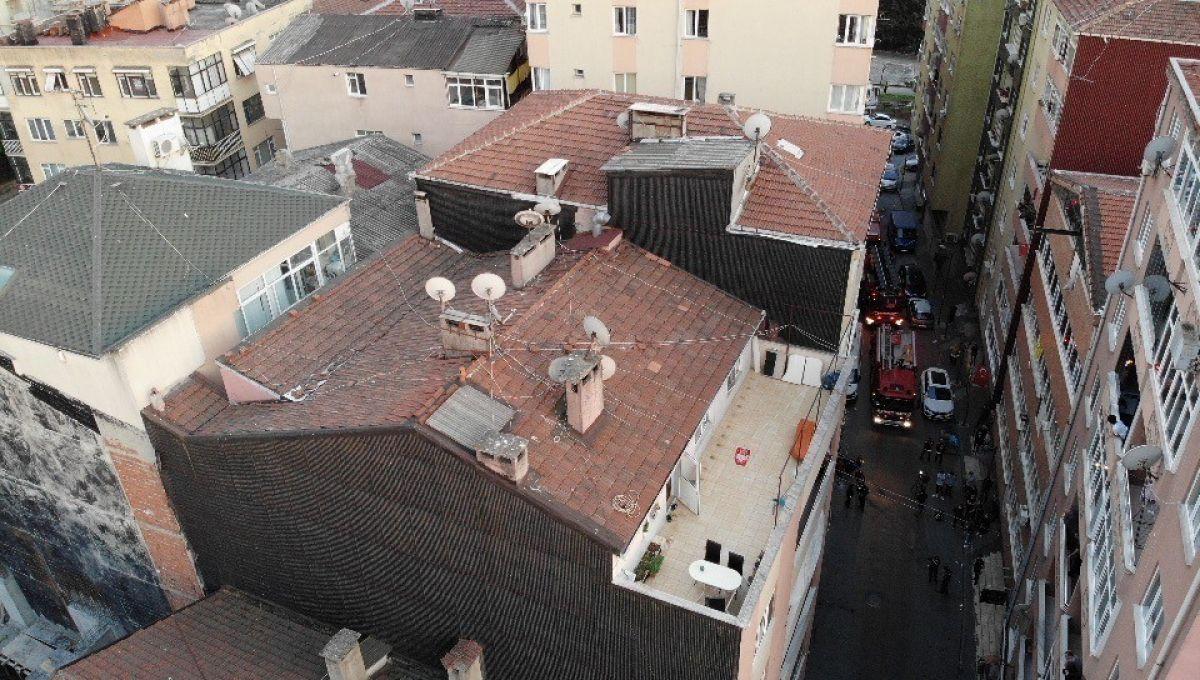 Şişli'de 6 katlı bina, çökme riski nedeniyle tahliye edildi #6
