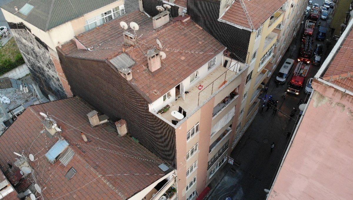 Şişli'de 6 katlı bina, çökme riski nedeniyle tahliye edildi #3