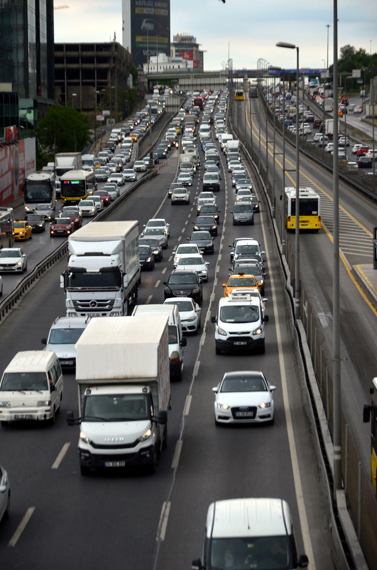 İstanbul da trafik yoğunluğu  #7