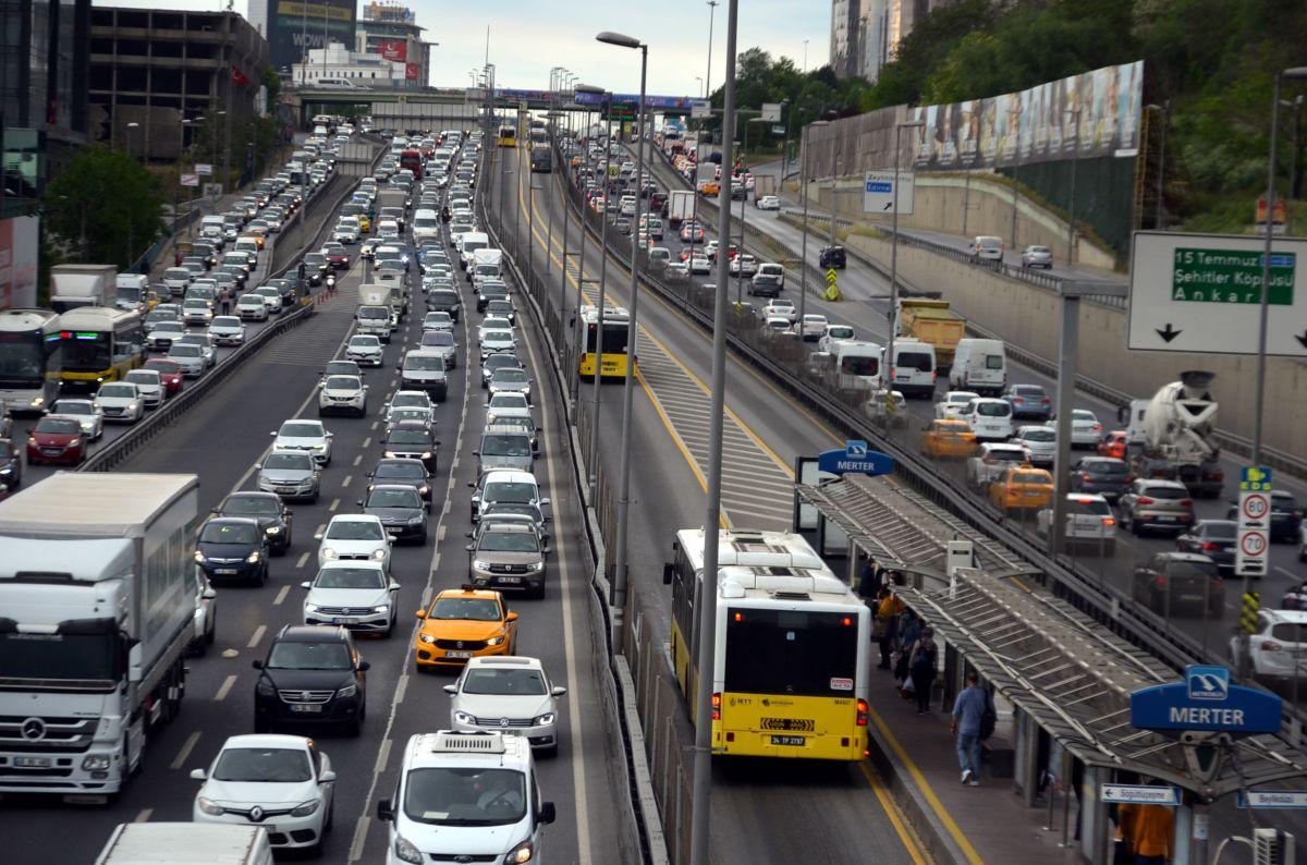 İstanbul da trafik yoğunluğu  #6