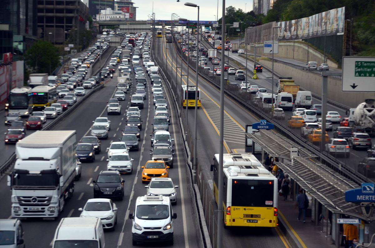 İstanbul da trafik yoğunluğu  #8