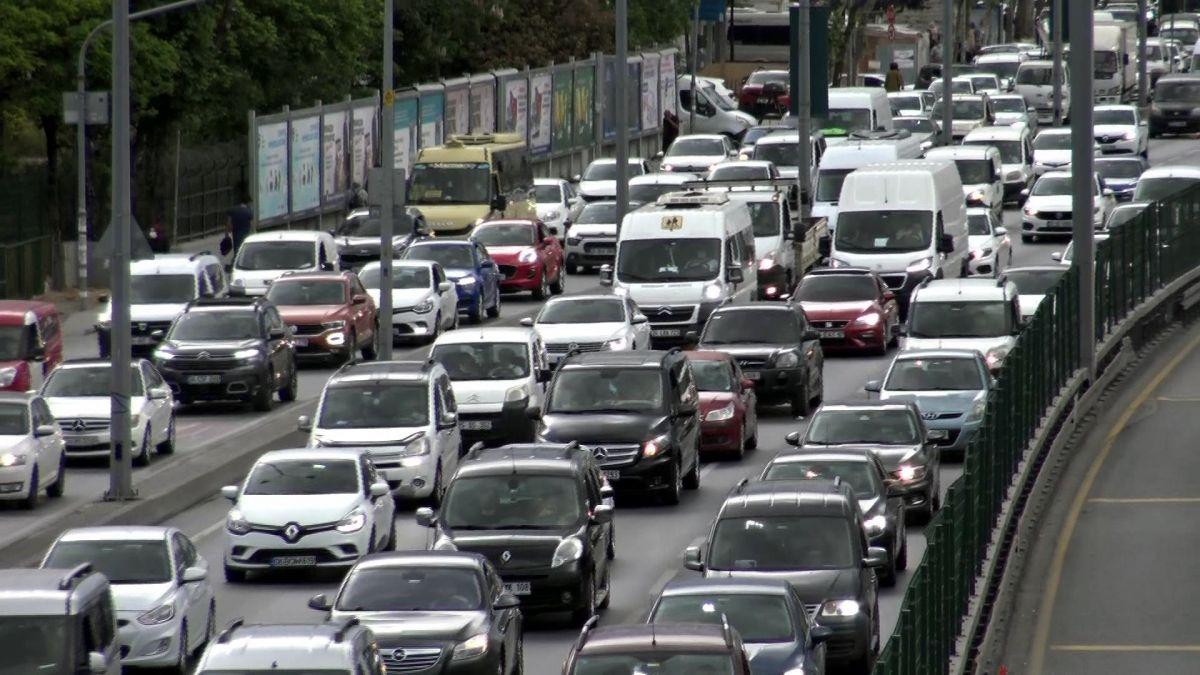 İstanbul da trafik yoğunluğu  #2