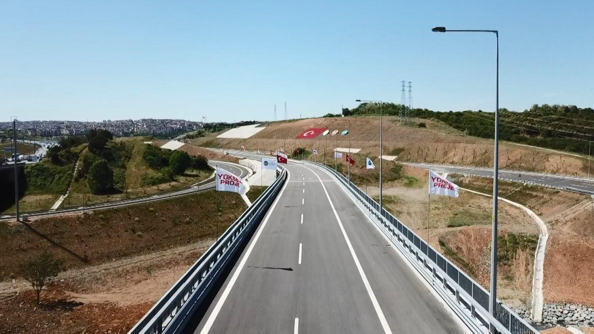 Kuzey Marmara Otoyolu Projesi nin son bölümü de bitti #8