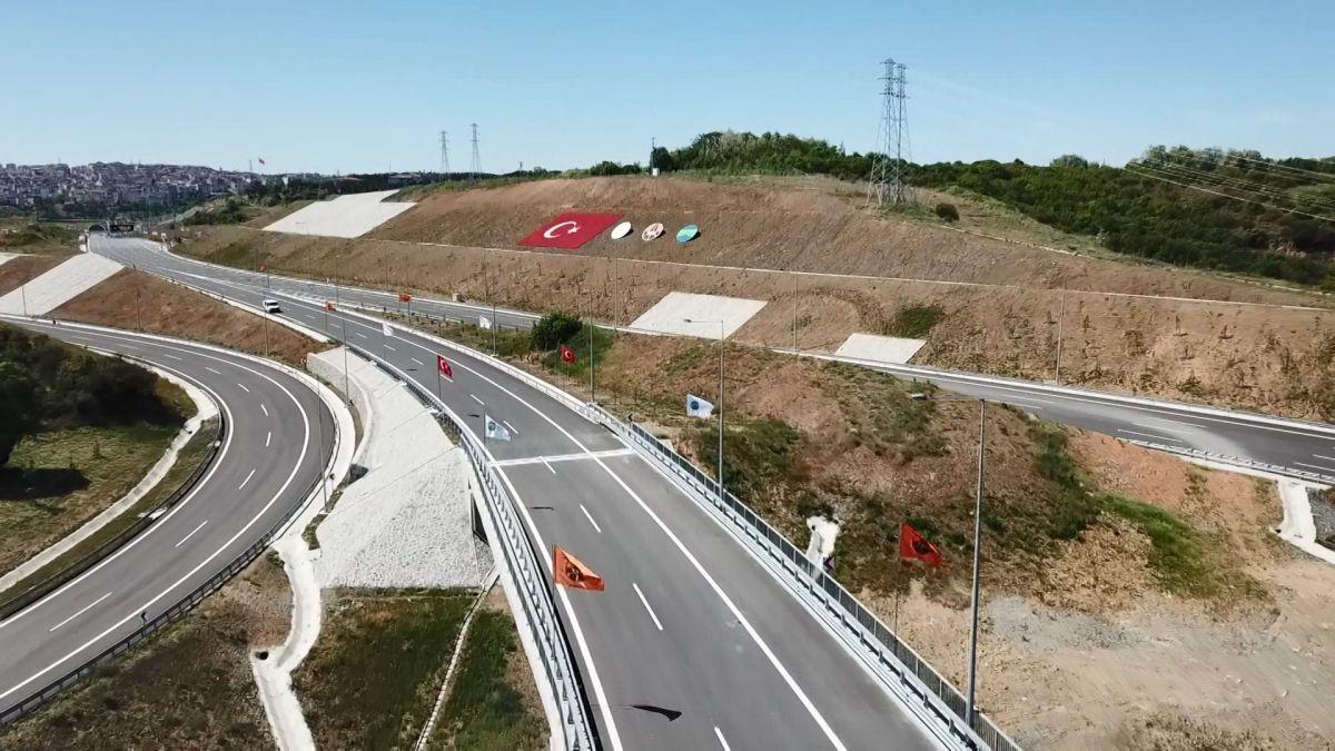 Kuzey Marmara Otoyolu Projesi nin son bölümü de bitti #9