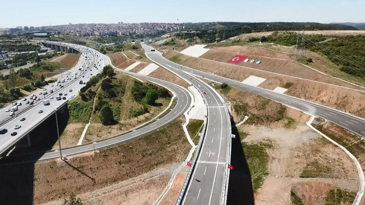 Kuzey Marmara Otoyolu Projesi nin son bölümü de bitti #3