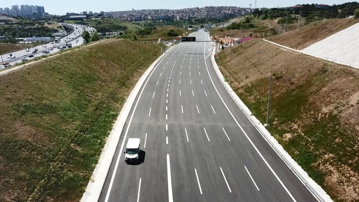 Kuzey Marmara Otoyolu Projesi nin son bölümü de bitti #4