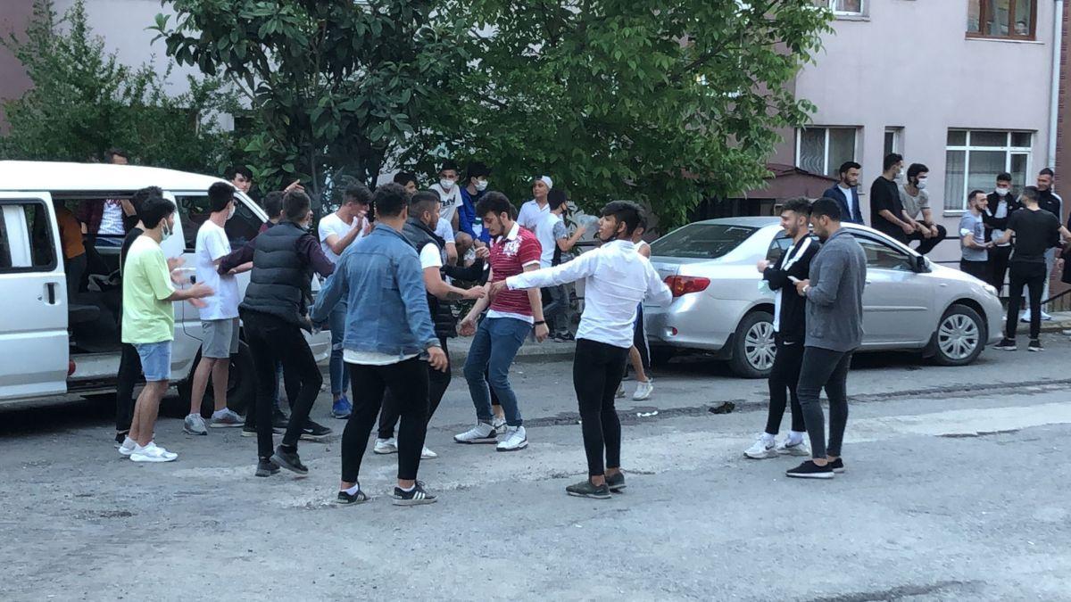 Zonguldak ta maske ve sosyal mesafesiz asker uğurlaması #4