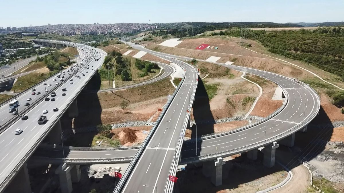 Kuzey Marmara Otoyolu Projesi nin son bölümü de bitti #2