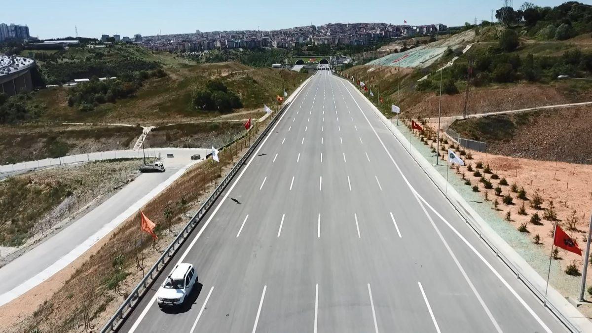 Kuzey Marmara Otoyolu Projesi nin son bölümü de bitti #5