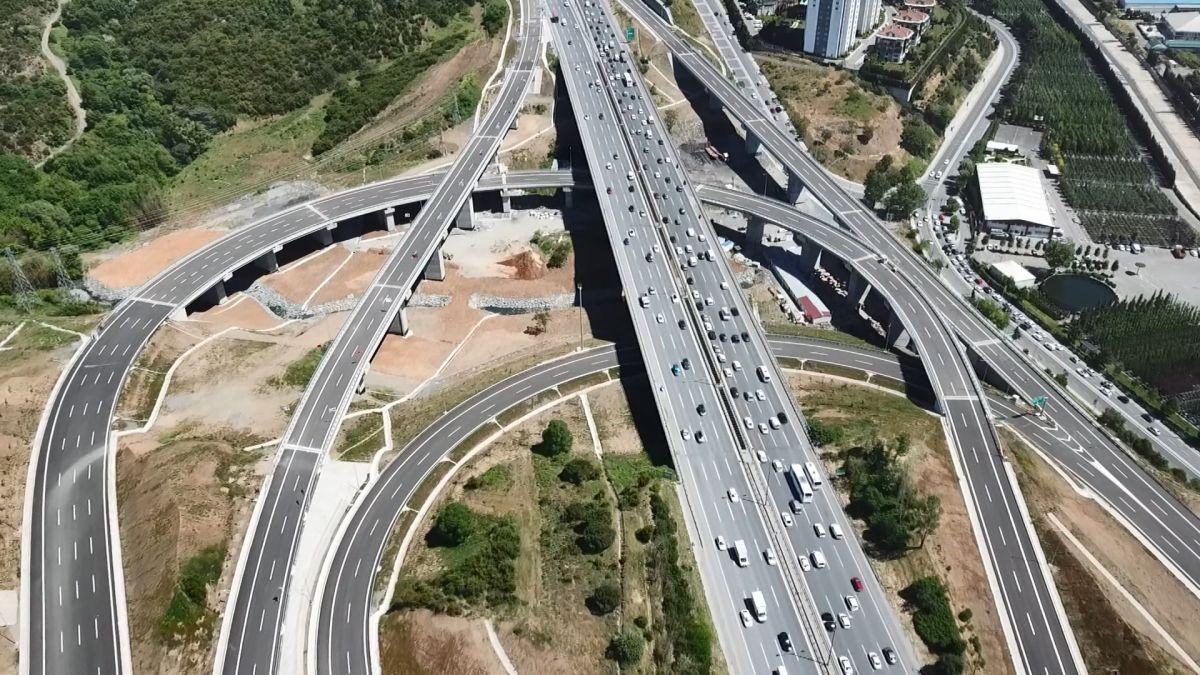 Kuzey Marmara Otoyolu Projesi nin son bölümü de bitti #1
