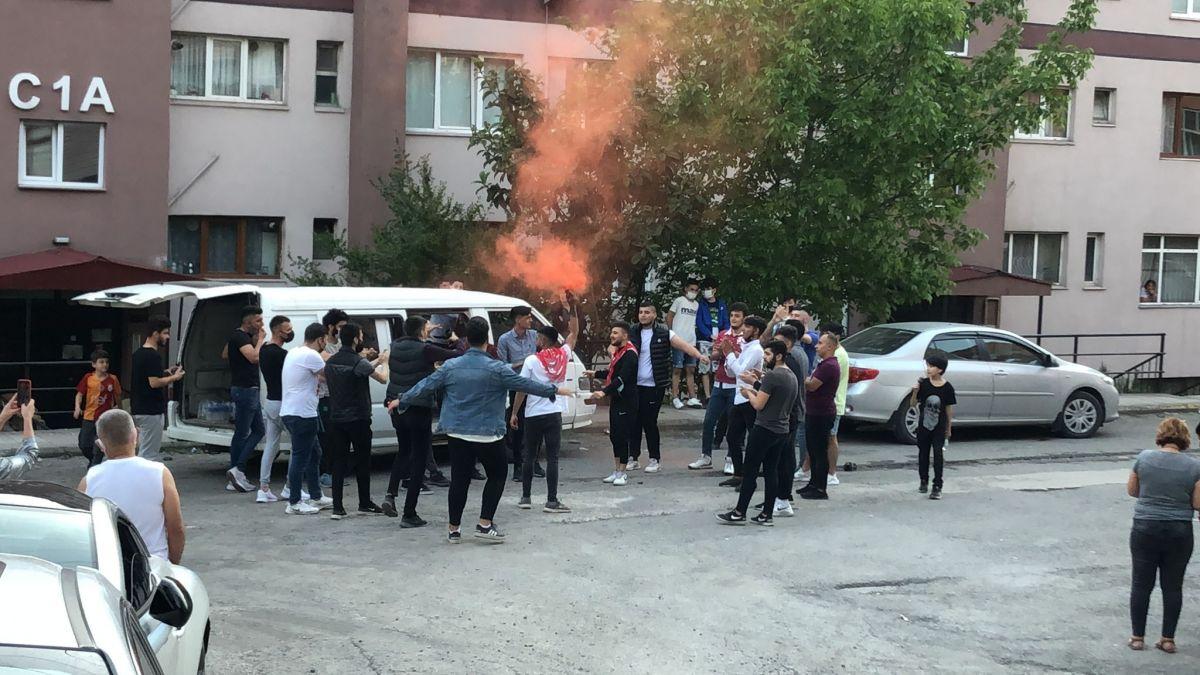 Zonguldak ta maske ve sosyal mesafesiz asker uğurlaması #7