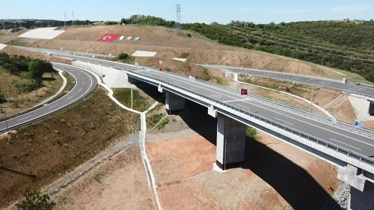 Kuzey Marmara Otoyolu Projesi nin son bölümü de bitti #7