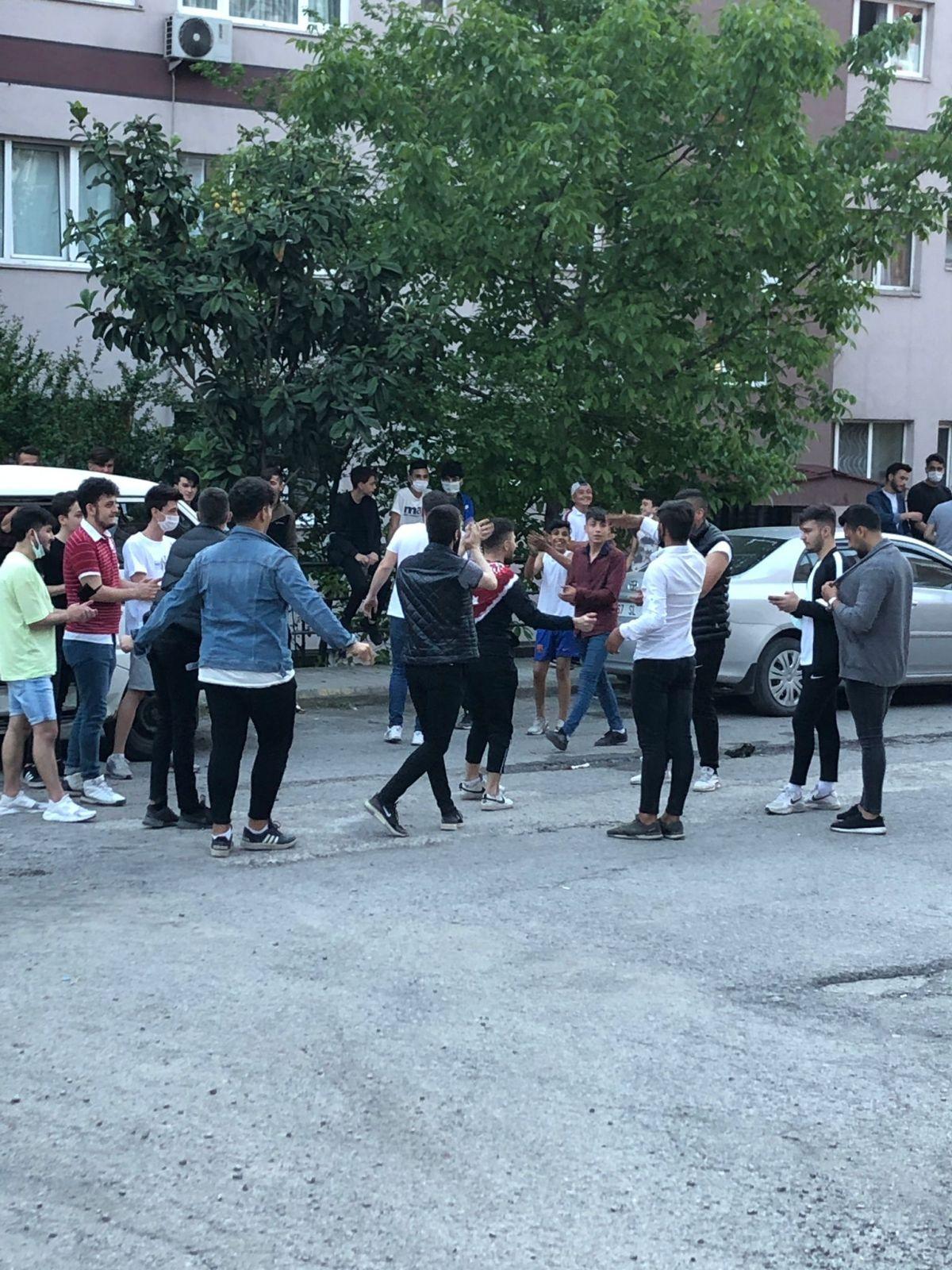 Zonguldak ta maske ve sosyal mesafesiz asker uğurlaması #3
