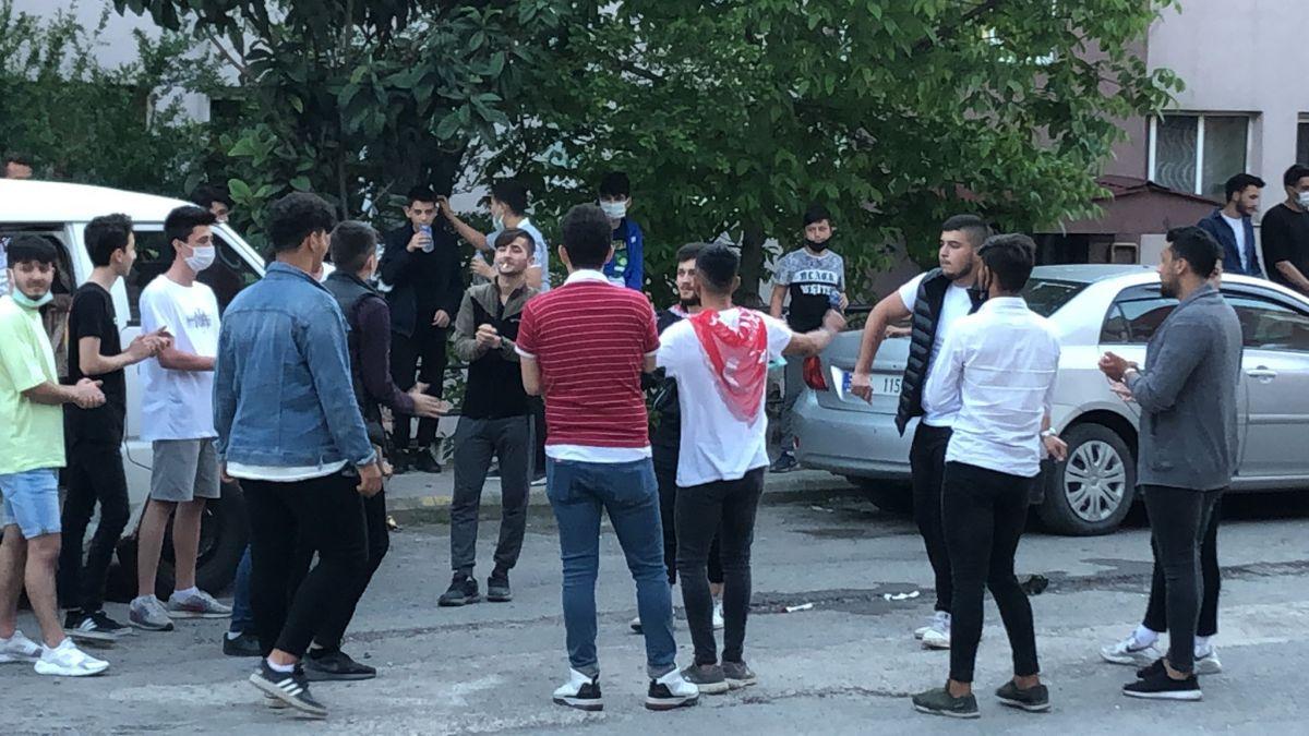 Zonguldak ta maske ve sosyal mesafesiz asker uğurlaması #6