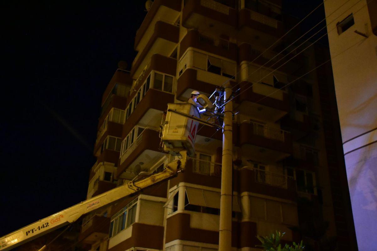 İzmir de kablo çalmak isteyen şahıs elektrik çarpması sonucu hayatını kaybetti #8