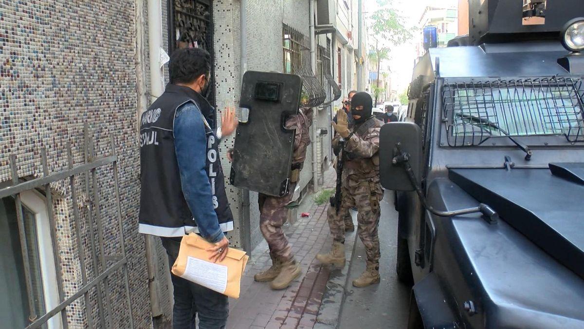 İstanbul da uyuşturucu operasyonu: Çok sayıda gözaltı var #3