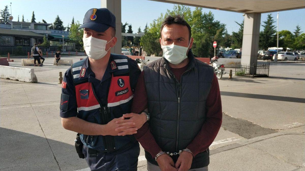 Samsun da tutuklanan zanlı, koronavirüs testine götürülürken tehdit etti #2