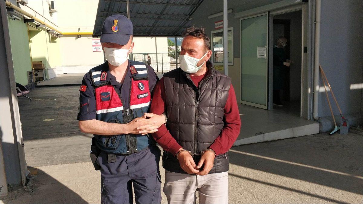 Samsun da tutuklanan zanlı, koronavirüs testine götürülürken tehdit etti #4