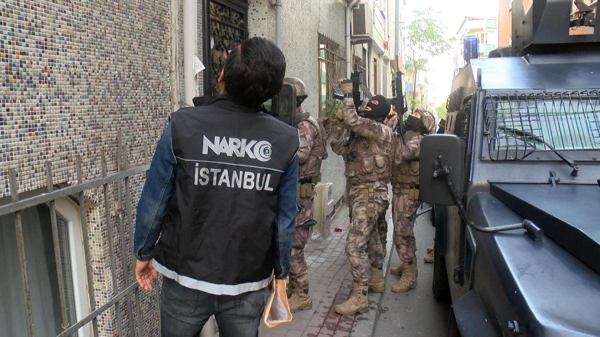 İstanbul da uyuşturucu operasyonu: Çok sayıda gözaltı var #2