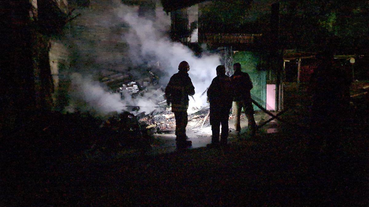 Gebze de kereste fabrikasında yangın meydana geldi #3