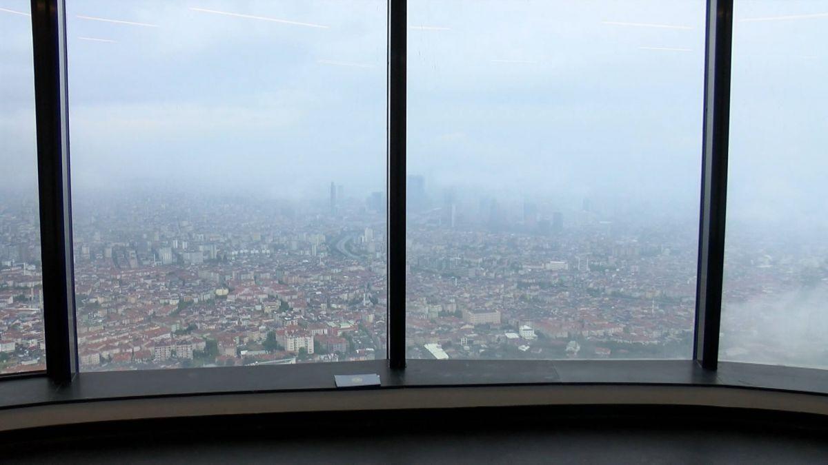 Çamlıca Kulesi nden İstanbul manzarası görünümü #1