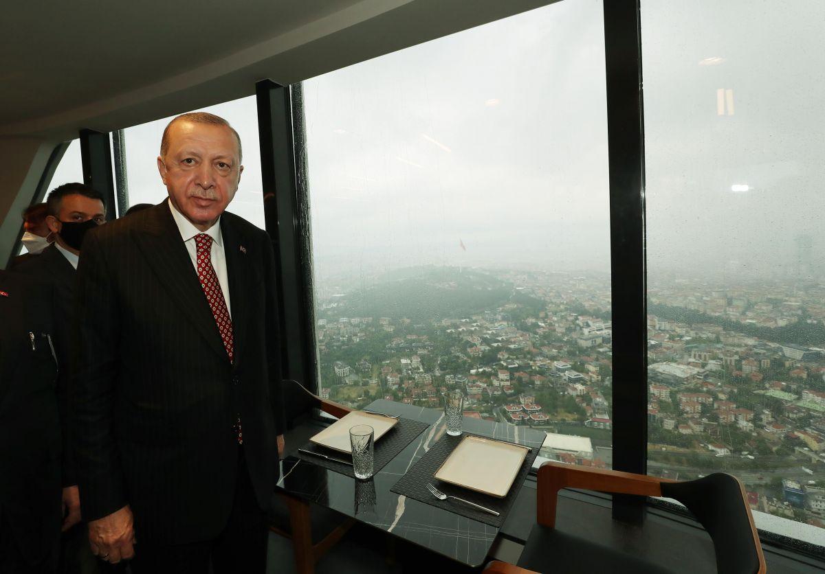 Cumhurbaşkanı Erdoğan, Çamlıca Kulesi ni gezdi #6