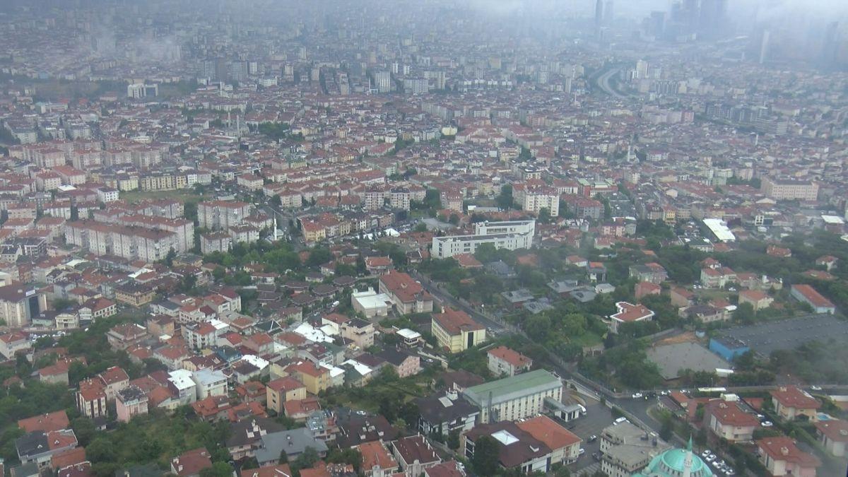 Çamlıca Kulesi nden İstanbul manzarası görünümü #2