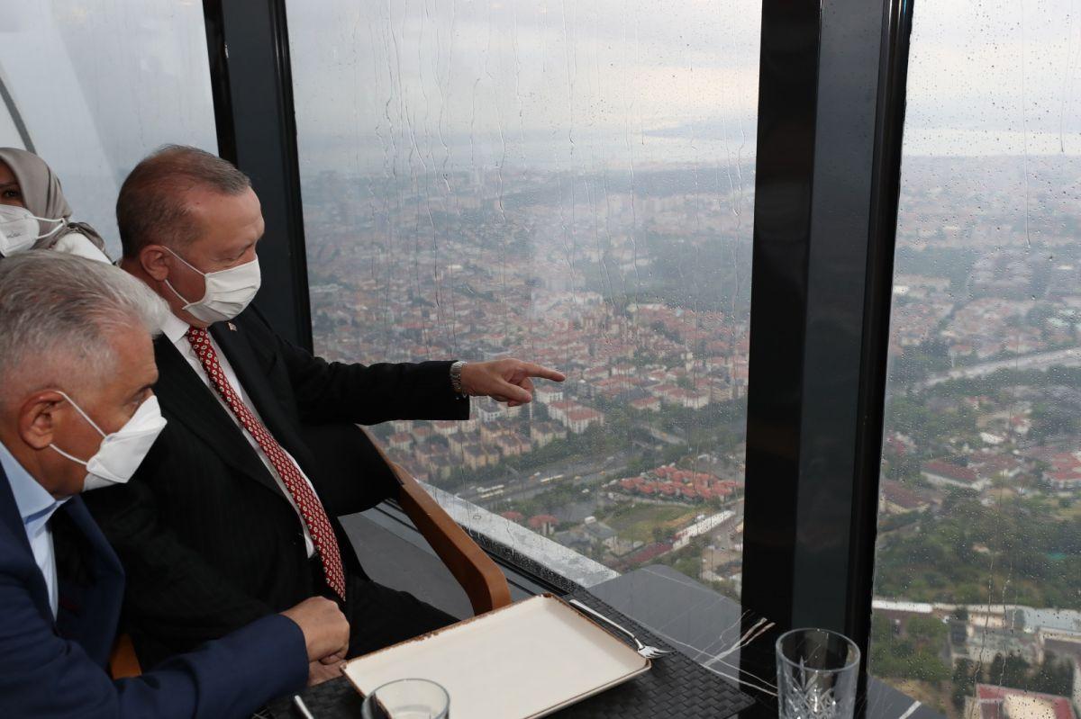 Cumhurbaşkanı Erdoğan, Çamlıca Kulesi ni gezdi #2