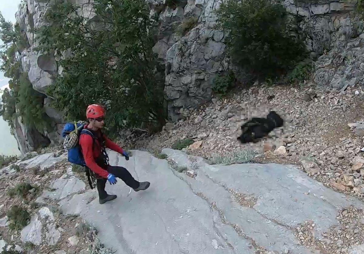 Antalya da 16 gündür kayıp Ukraynalı Yana nın cansız bedeni dağlık alanda bulundu #1