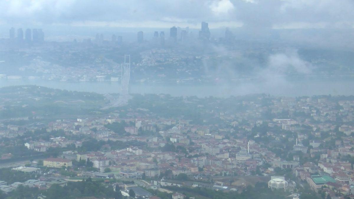Çamlıca Kulesi nden İstanbul manzarası görünümü #5