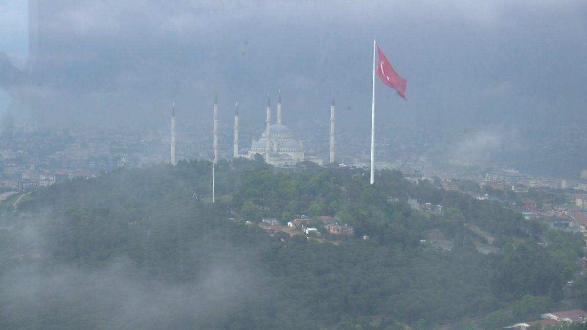 Çamlıca Kulesi nden İstanbul manzarası görünümü #3