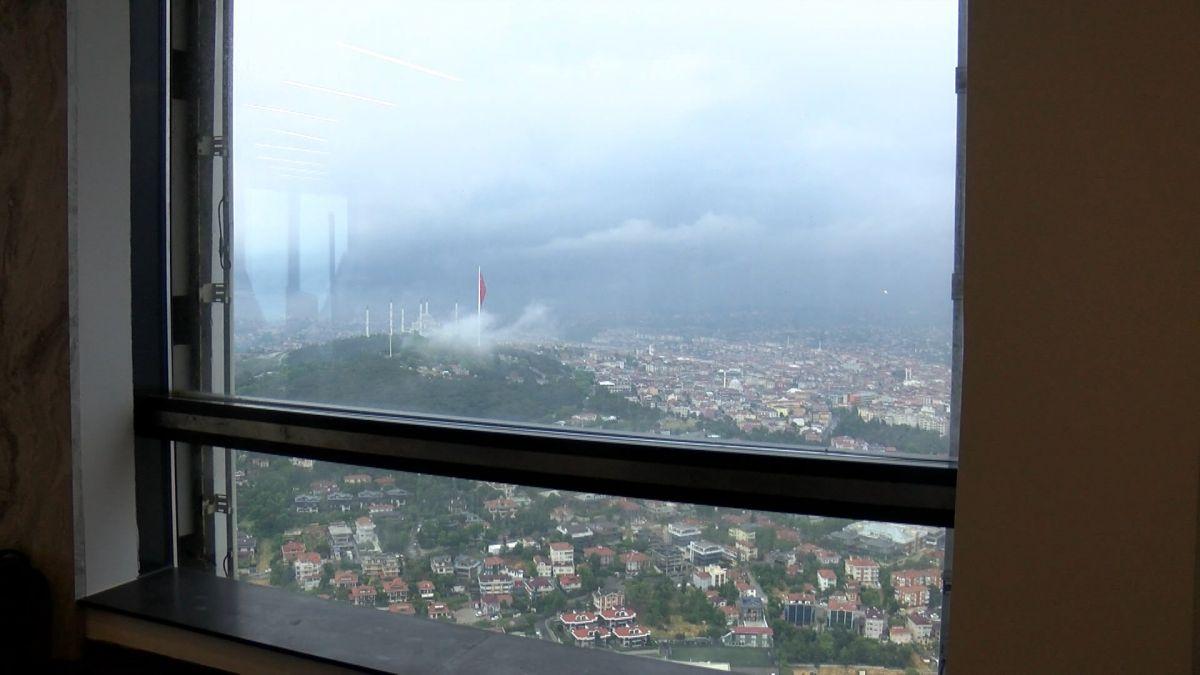Çamlıca Kulesi nden İstanbul manzarası görünümü #4