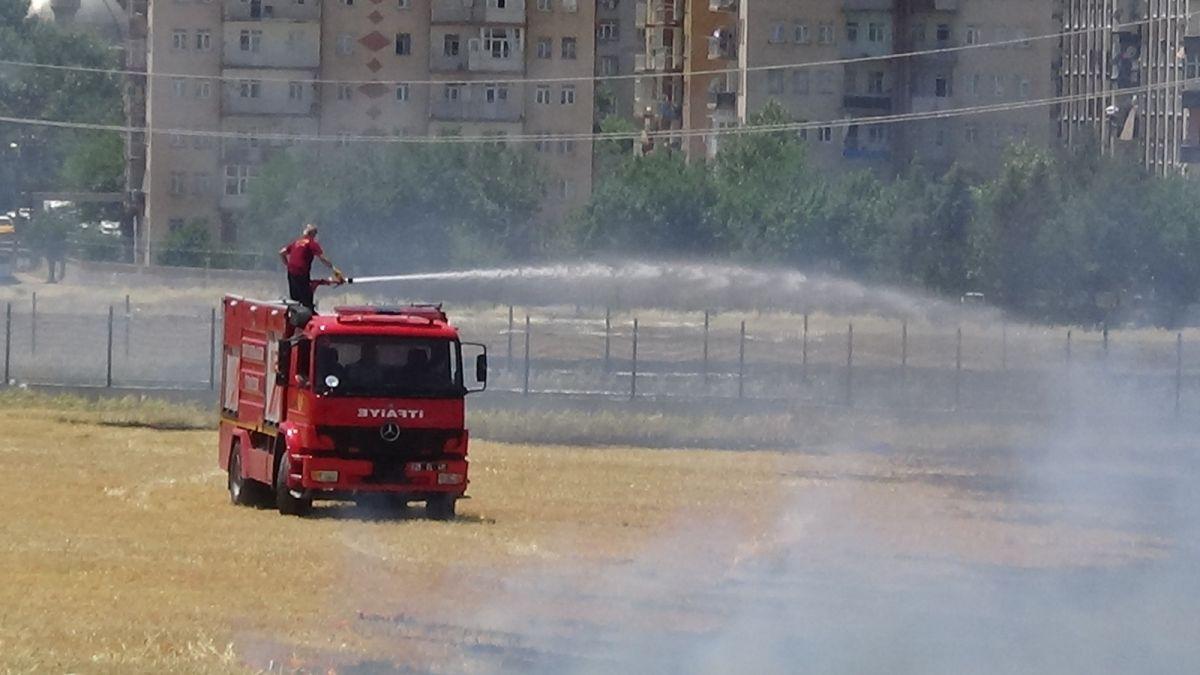 Diyarbakır daki anız yangını kontrol altına alındı #5