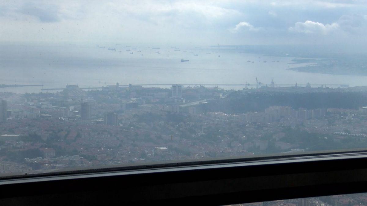 Çamlıca Kulesi nden İstanbul manzarası görünümü #6