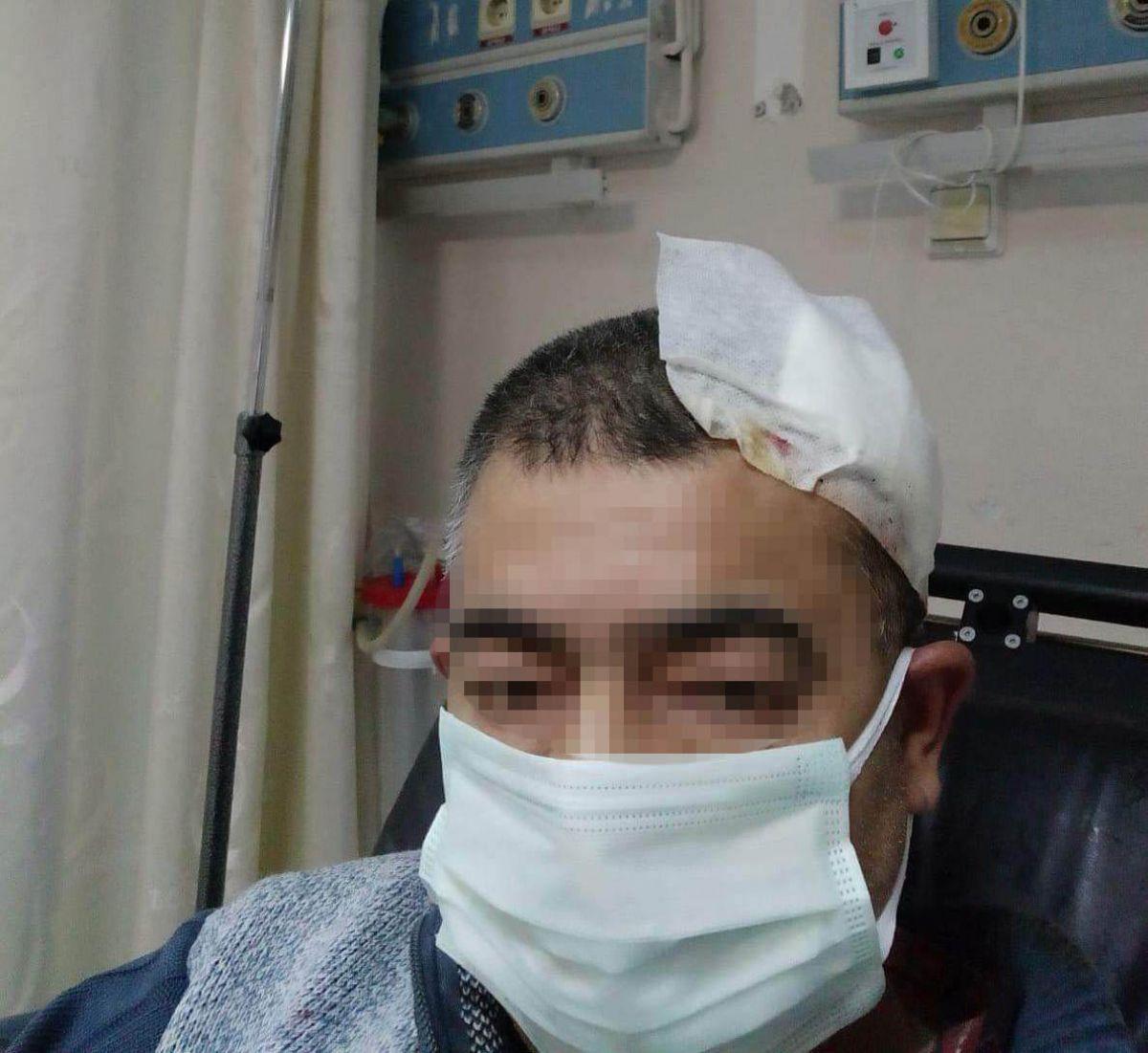 Amasya da imam, kendisini uyaran müezzine saldırdı #1