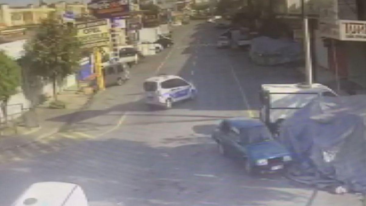 Başakşehir de tamir için bırakılan polis otosuyla tur atan çıraklar köpek çaldı #3