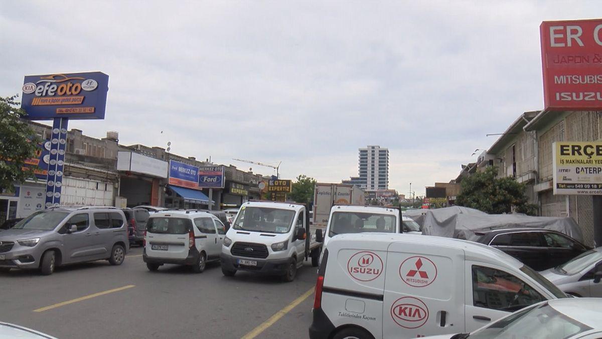 Başakşehir de tamir için bırakılan polis otosuyla tur atan çıraklar köpek çaldı #8