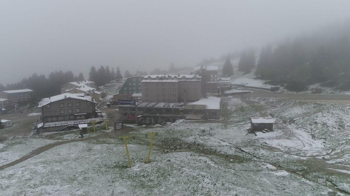 Uludağ'a Haziran ayında kar yağdı #4