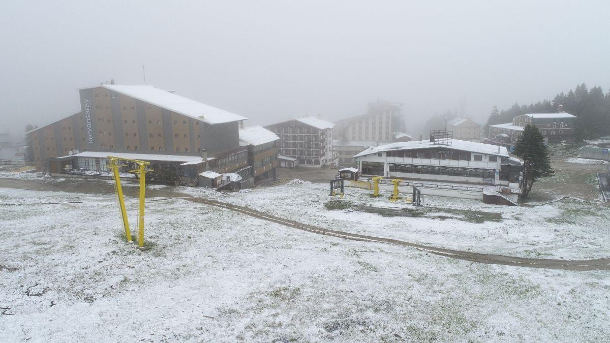 Uludağ'a Haziran ayında kar yağdı #2