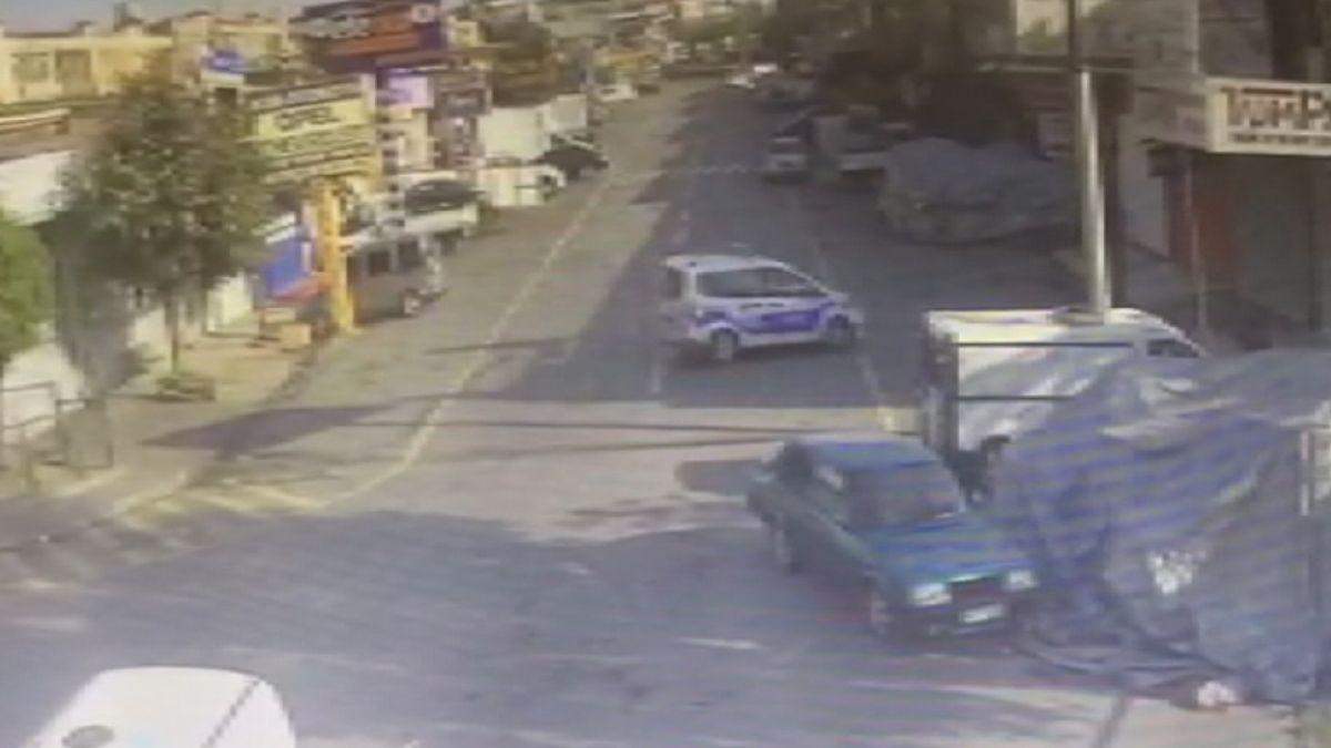 Başakşehir de tamir için bırakılan polis otosuyla tur atan çıraklar köpek çaldı #4