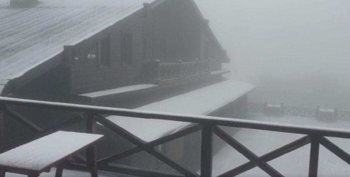 Uludağ'a Haziran ayında kar yağdı #3