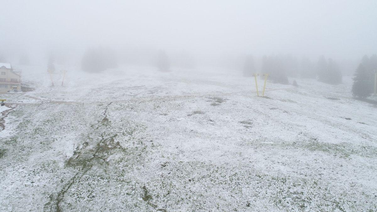 Uludağ'a Haziran ayında kar yağdı #6