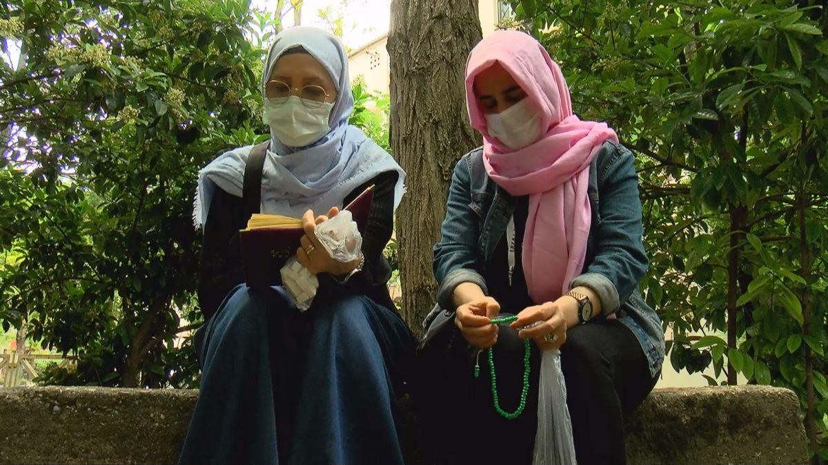 İstanbul da LGS öncesi Zuhuratbaba Türbesi ne akın ettiler #5