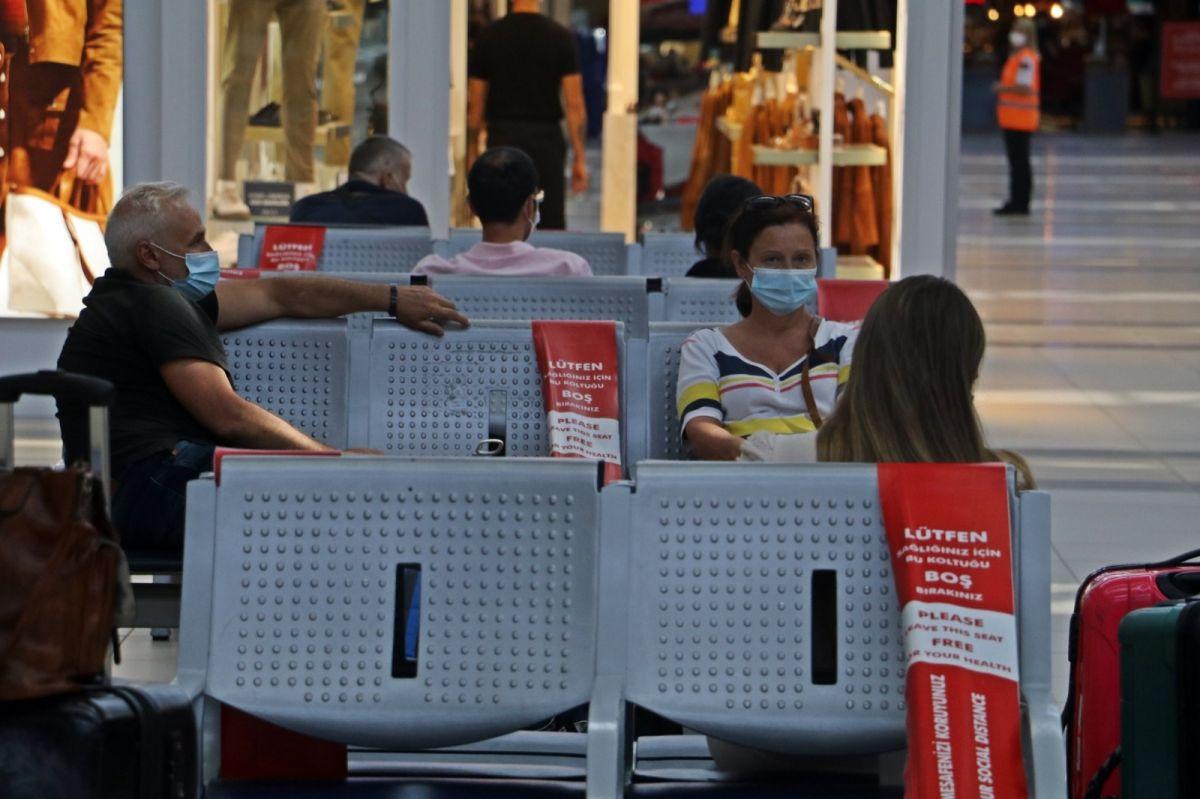 Antalya'ya günlük gelen turist sayısında vaka düşüşü etkisi #18