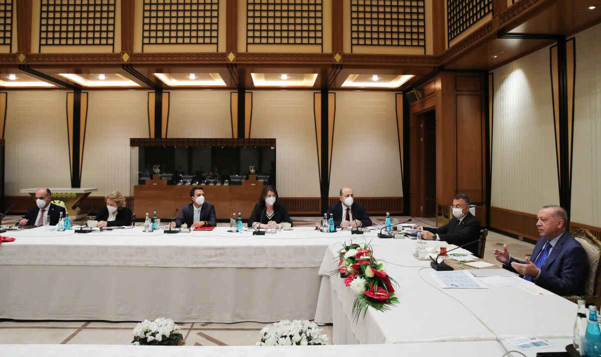 Cumhurbaşkanı Erdoğan dan akademisyenlerle müsilaj toplantısı #3