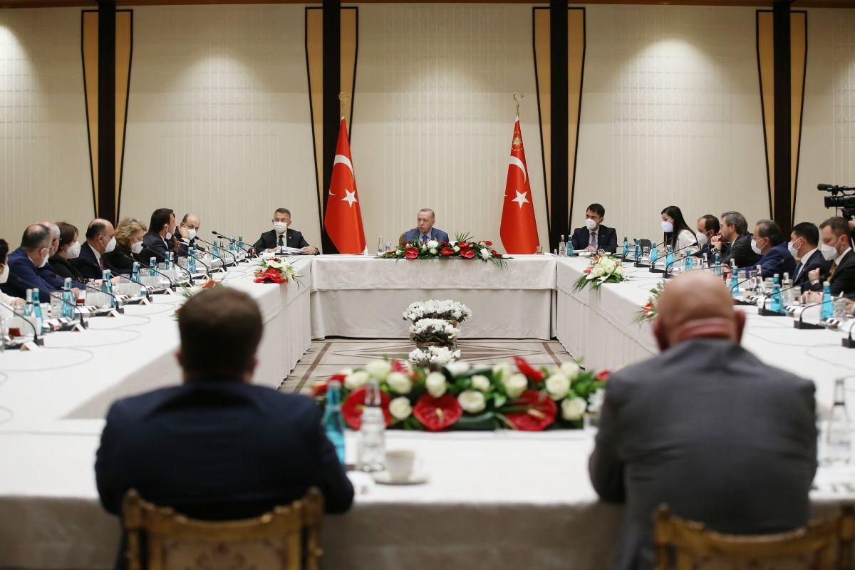 Cumhurbaşkanı Erdoğan dan akademisyenlerle müsilaj toplantısı #2